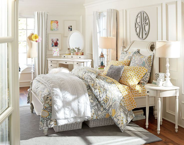 Teenage Girl Bedroom Ideas | Modern Elegance | PBteen