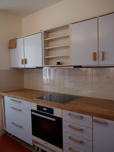 1950's, rintamiestalon keittiö, kaapistot...