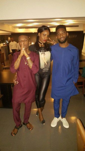 PHOTOS: UK rapper Tinnie Tempah hangs out with Wizkid and Seyi Shay in Lagos