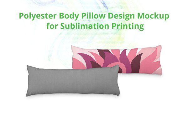Body Pillow Cover Design Mock Up Psd Mockup Free Mockups Psd Pillow Cover Design Body Pillow Covers Body Pillow