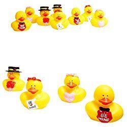 Valentine Rubber Ducks