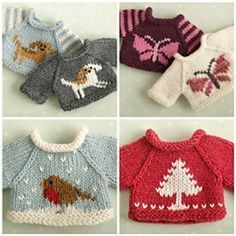 Ravelry: A simple sweater, 3 ways pattern by little cotton rabbits, Julie Williams
