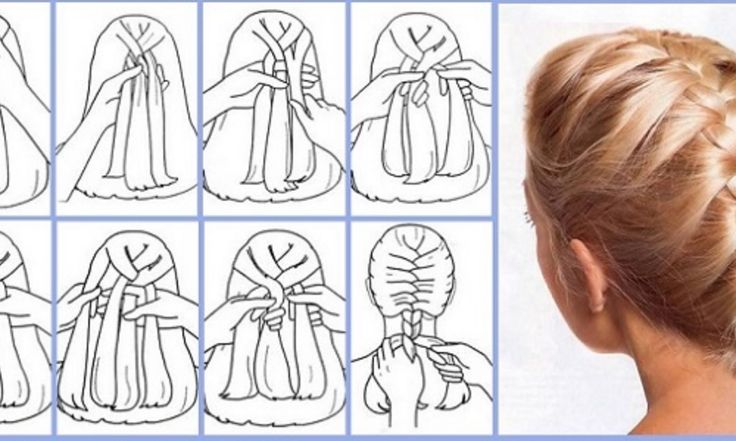 French Braid Hairstyle In 6 Easy Steps