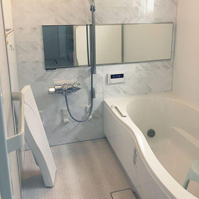 バス トイレ 組み石ホワイト 丸洗いカウンター Lixil アライズ