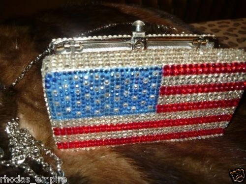 American Flag Crystal Bag
