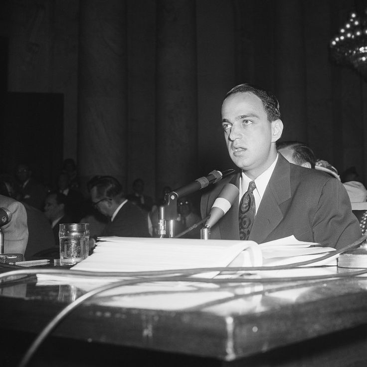 President Trump Called For Roy Cohn, But Roy Cohn Was Gone