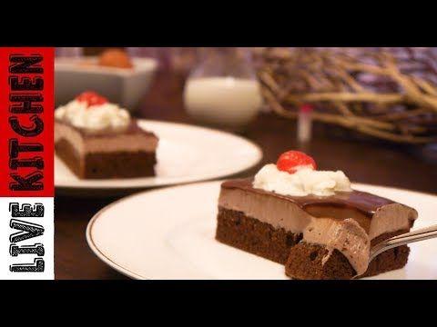 Γλυκό ψυγείου - Εύκολη  πάστα σοκολατίνα - The easiest chocolate paste - Live Kitchen - YouTube