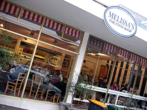 Yum, Melissa's on Kloof Street. Don't forget to buy some goodies to take home.