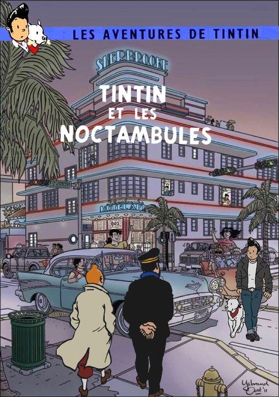 Les Aventures de Tintin - Album Imaginaire - Tintin et les Noctambules