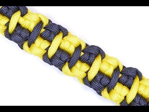 """How to Make """"The Cabbie"""" Paracord Survival Bracelet - Bored Paracord - YouTube"""