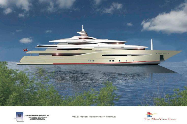Photos of  yachts | Category: Mega Yacht ; Year: 2013; Manufacturer: THE MEGA YACHT GROUP ...