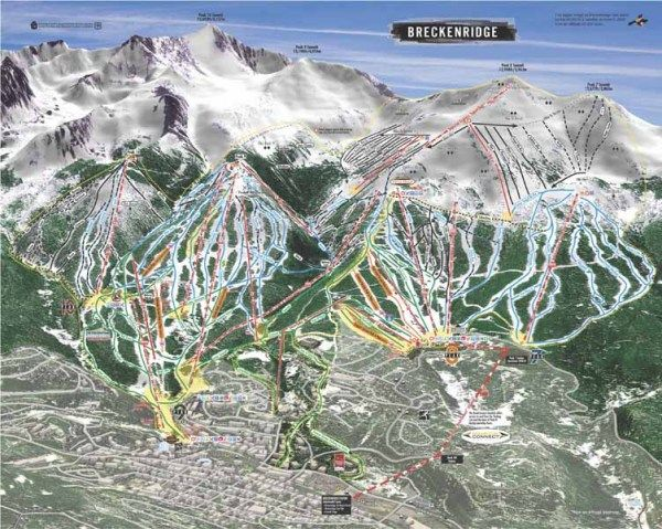 Snow Skiing in Breckenridge