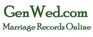 ~ Free Site for Genealogy Marriage Records at GenWed, databases and directory ~