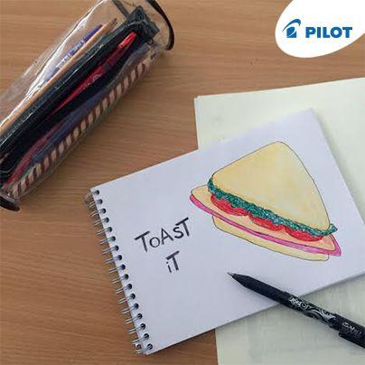 Nezabudnite si pripraviť výdatnú desiatu :) #happywriting #snack #school #food #pilotpensk