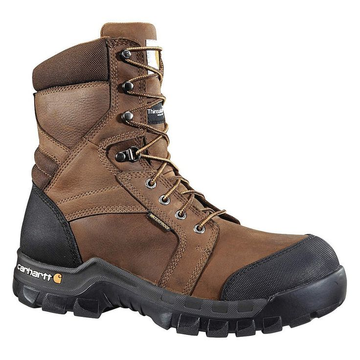 Carhartt - CMF8389-10.5W - Work Boots, Size 10-1/2, Toe Type: Composite, PR *** You can get more details here : Carhartt Boots