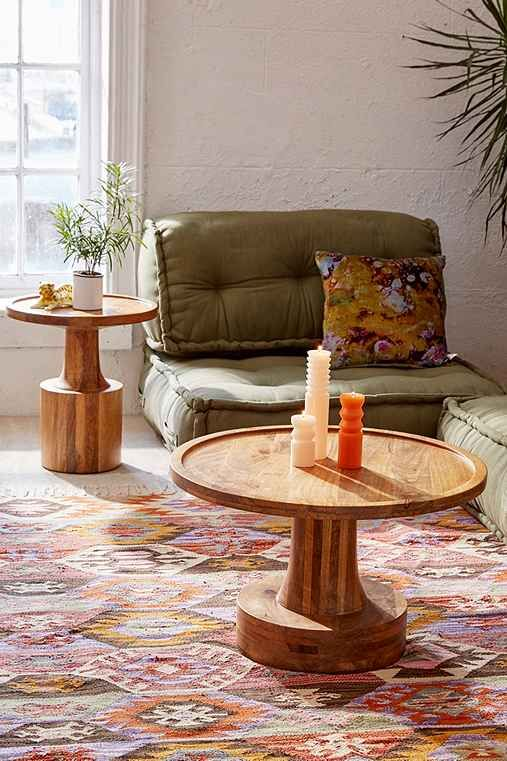 Sierra Round Wood Coffee Table Part 88