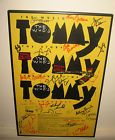 """THE WHO """"TOMMY"""" NYC BROADWAY FRAMED CAST SIGNED POSTER - Broadway, cast, framed, POSTER, Signed, TOMMY"""