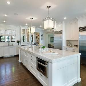 Taj Mahal Quartzite Countertops, Transitional, kitchen, 2 Design Group