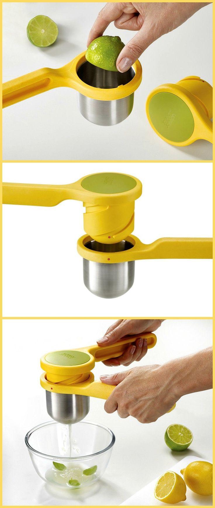 Joseph Joseph Helix Citrus Juicer. Ergonomic twist-action hand press makes juicing easier. #affiliate