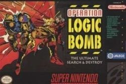 Complete Operation Logic Bomb - SNES