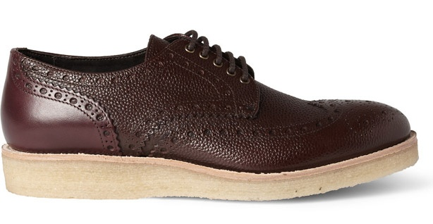 Paul Smith Crepe Sole Leather Brogues