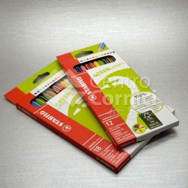 Stabilo - set matite colorate greencolors - Matite - Centro Cornici Verona
