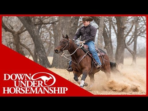 Clinton Anderson: How to Correct a Horse That Spooks - Downunder Horsemanship - YouTube