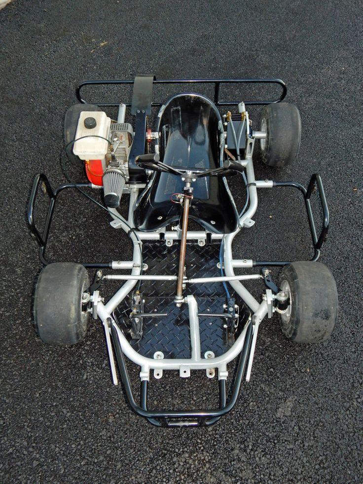 2006 Desperado Racing Kid Go Kart w Comer 50, Jex parts, full adjustab front end