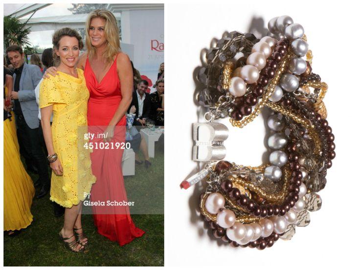Sanny van Heteren is wearing a SIGNATURE Extravaganza Berlin bracelet from BISAZO (http://www.cliccessory.com/en/collections/bisazo/signature/signature-extravaganza-berlin.html).