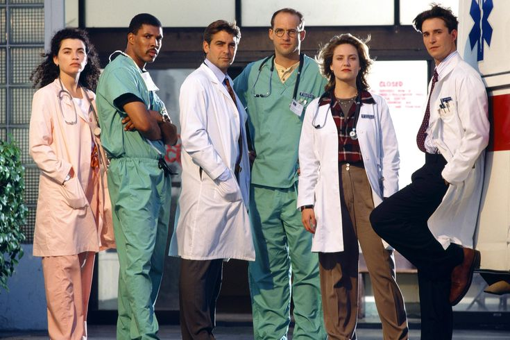 Photo: 'ER' Cast -- 'ER'debuted on NBC in 1994. Its fast pace and kinetic energy redefined the terms of medical dramas. With 330 episodes over 15 seasons,'ER'became the longest-running medical drama on TV and was nominated for 124 Emmy Awards, still a record for dramas (it won 23)...