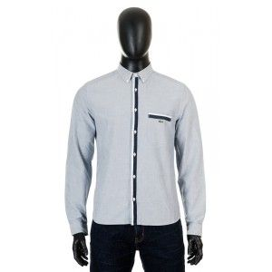 Lacoste - blue men shirt