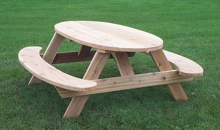 7 Heavy Duty Wooden Picnic Table For Homes Businesses Wooden Picnic Tables Picnic Table Picnic Table Plans