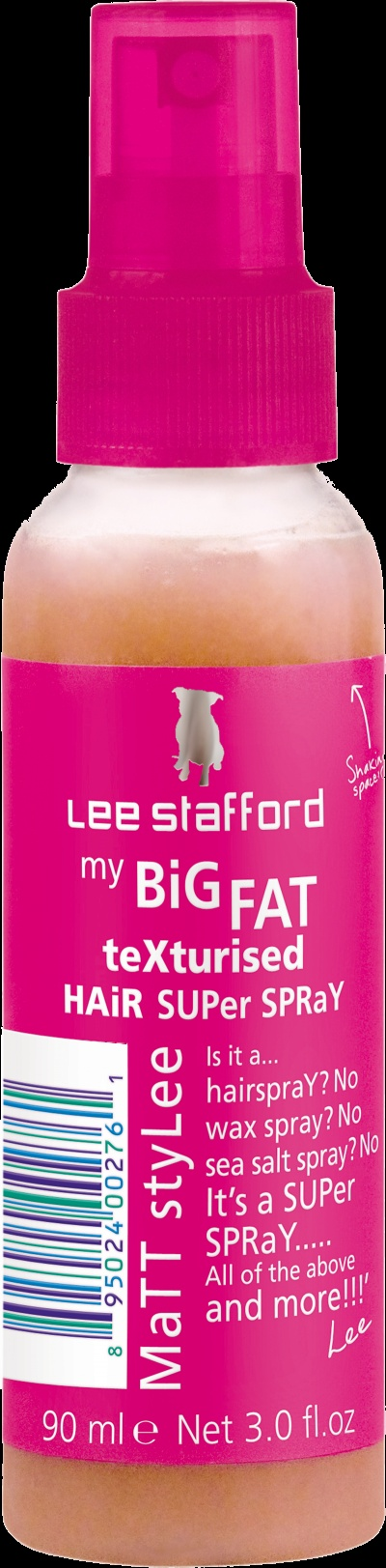 Lee Stafford 'My Big Fat Texturised Hair Super Spray'. Recently bought this and it is great for creating that sea salt beachy hair look.