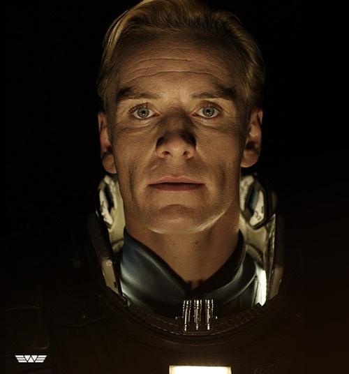 Prometheus  David 8  Michael Fassbender
