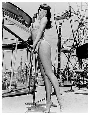 """The """"Queen of Pinups"""", Bettie Page (1923-2008)"""