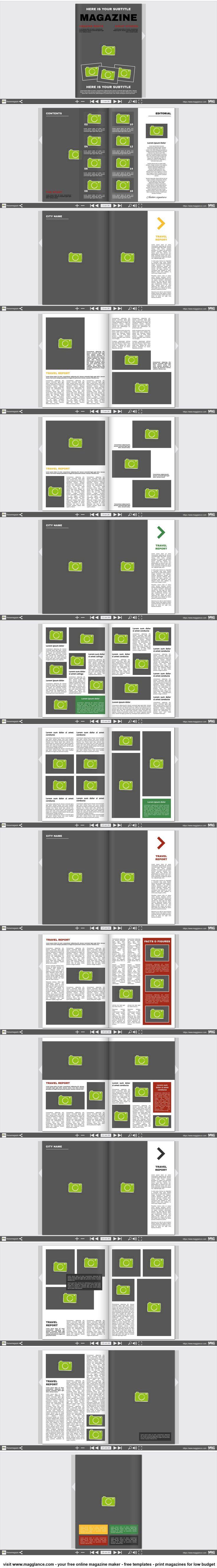 Fotobuch kostenlos online erstellen und günstig drucken unter https://de.magglance.com/fotobuch-vorlage #Fotobuch #Vorlage #Design #Muster #Beispiel #Template #Gestalten #Erstellen #Layout #Fotomagazine #online