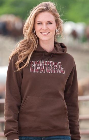 Cowgirl Crystal Hoodie