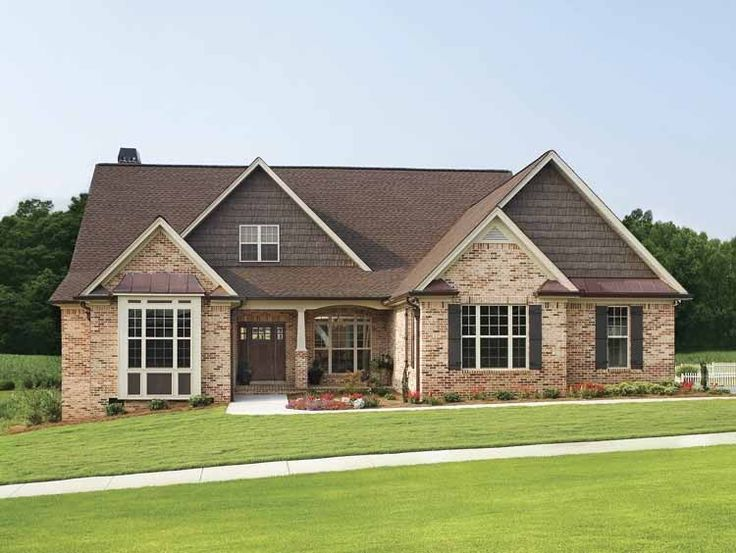 find this pin and more on new home ideas - New Brick Home Designs
