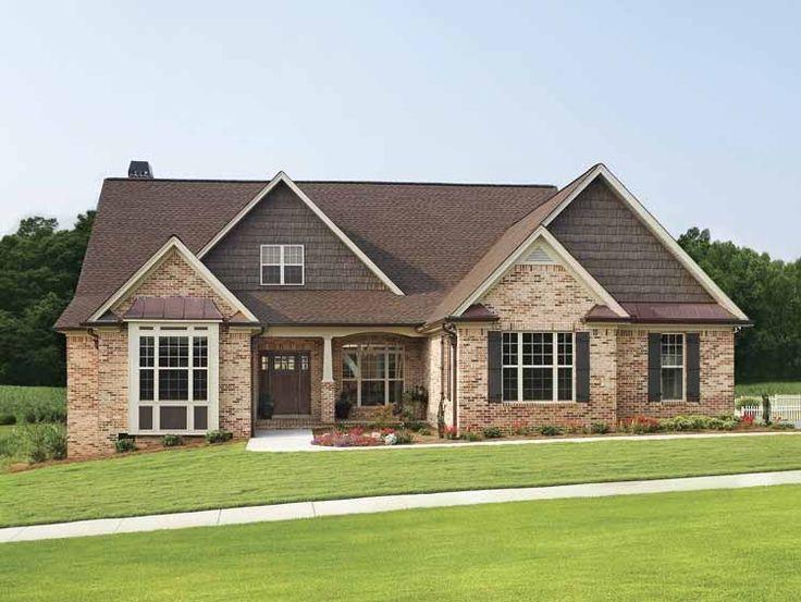 Best 25 Brick House Plans Ideas On Pinterest Nice Houses