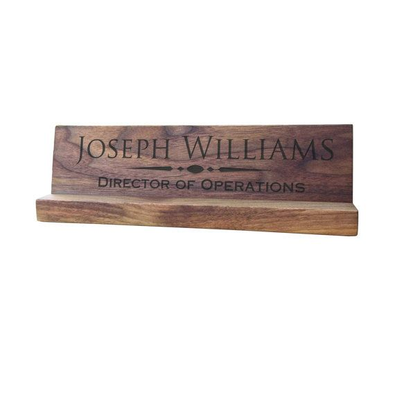 wood desk plate, desk name plate engraved, wood name desk plaque, personalized desk plate, desk name plate personalized, personalized plaque, office gift, desk plaque personal, wood name door sign, door sign engraved
