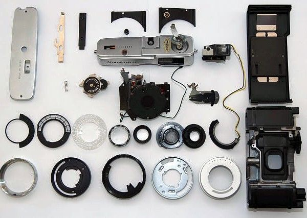 Olympus Trip 35 Refurbishing Service