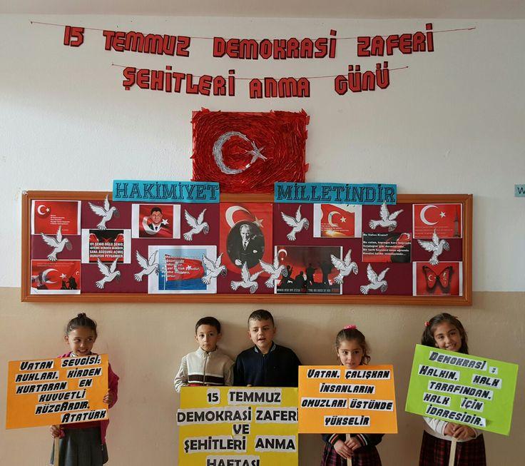 15 TEMMUZ DEMOKRASİ ZAFERİ VE ŞEHİTLERİ ANMA GÜNÜ...CANNUR HAZNEDAR