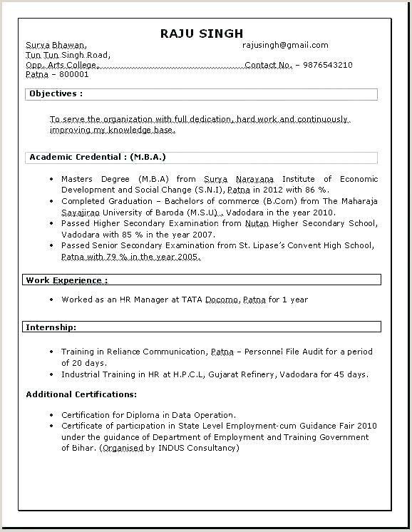 Bba Fresher Resume Format Doc Myoscommercetemplates Com Resume Format Resume Format In Word Resume Format For Freshers