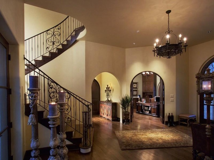 Lovely Tuscan Style Entry U0026 Staircase   Lexington, KY. Listed By Bluegrass  Sothebyu0027s International Realty