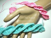Tina's handicraft : 3D Romanian Braid Twisted Ribbon