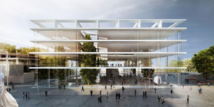 'The Slabs' – Italian Pavilion Expo 2015 Proposal / MenoMenoPiu Architects + BE.ST Architect