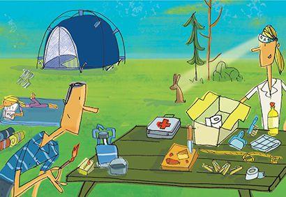 Camping: une liste pour ne rien oublier - Coup de Pouce