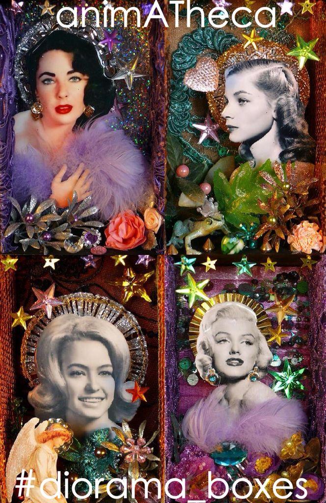 Liz, Lauren, Farrah and Marilyn