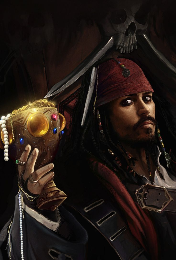 art,арт,красивые картинки,Pirates of the Caribbean,Пираты Карибского Моря,капитан джек воробей,Капитан,джек воробей,Dan LuVisi,Дэн ЛуВиси