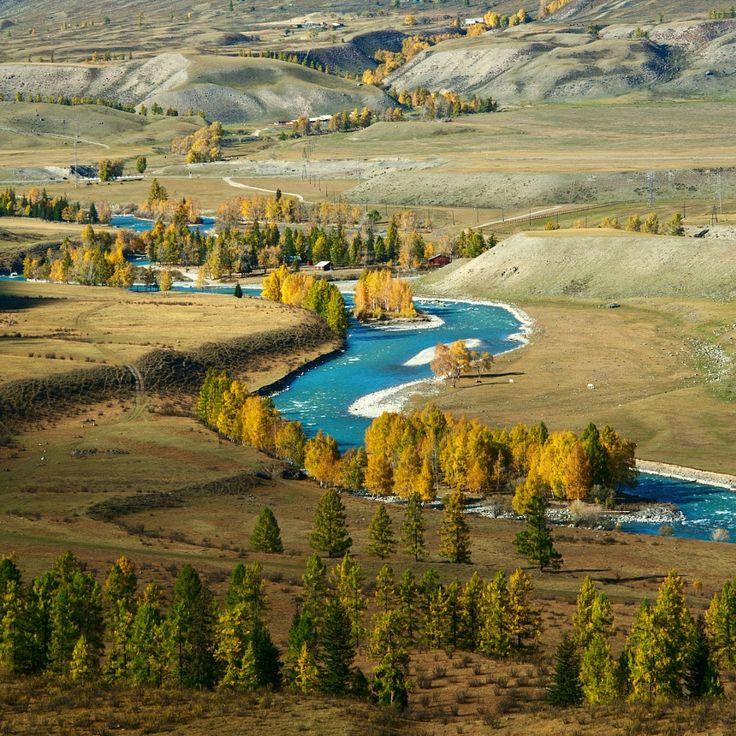 Autumn in Altay valley by Denis Cherkashin - Photo 123033991 / 500px